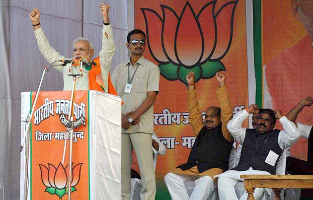 Narendra Modi gives clarion call to people of Chhattisgarh to make BJP win & make Dr. Raman Singh the CM