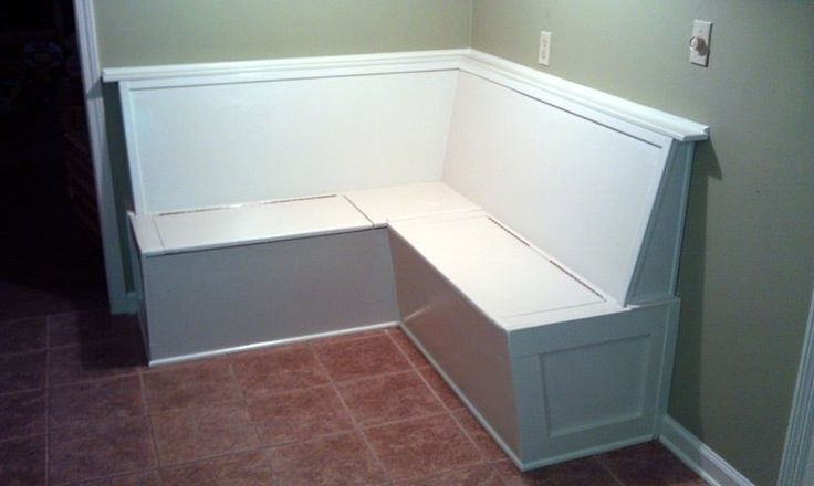 Built In Kitchen Bench Banquette Seating With Storage