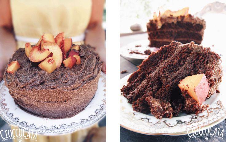 Sugar Free Chocolate Cake (Birthday cake) - CIOCCOCATA, perfect for every diet!!! and super delicious!