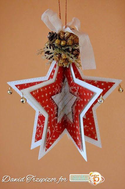 Gwiazdkowa bombka / A decoration on Christmas tree
