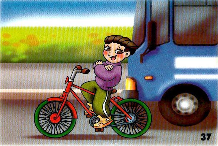 nedržať riadidlá na bicykli
