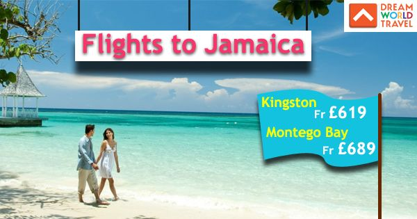 Find Great Deals on Flights to Jamaica from Dream World Travel.Get cheap Flight Deals, Holiday Deals and Hotel Deals to your Favourite destinatons worldwide at www.dwtltd.com. #CheapFlights #Flights #Deals #To #Jamaica