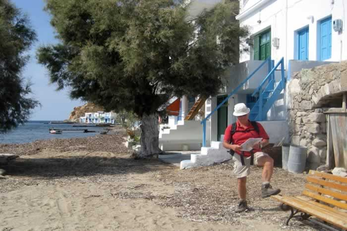Walking near Kilma on Milos