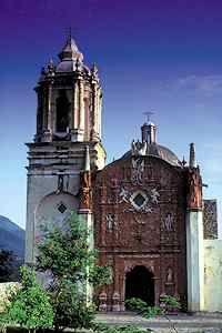 Mexico. Mision Conca, Arroyo Seco, Queretaro