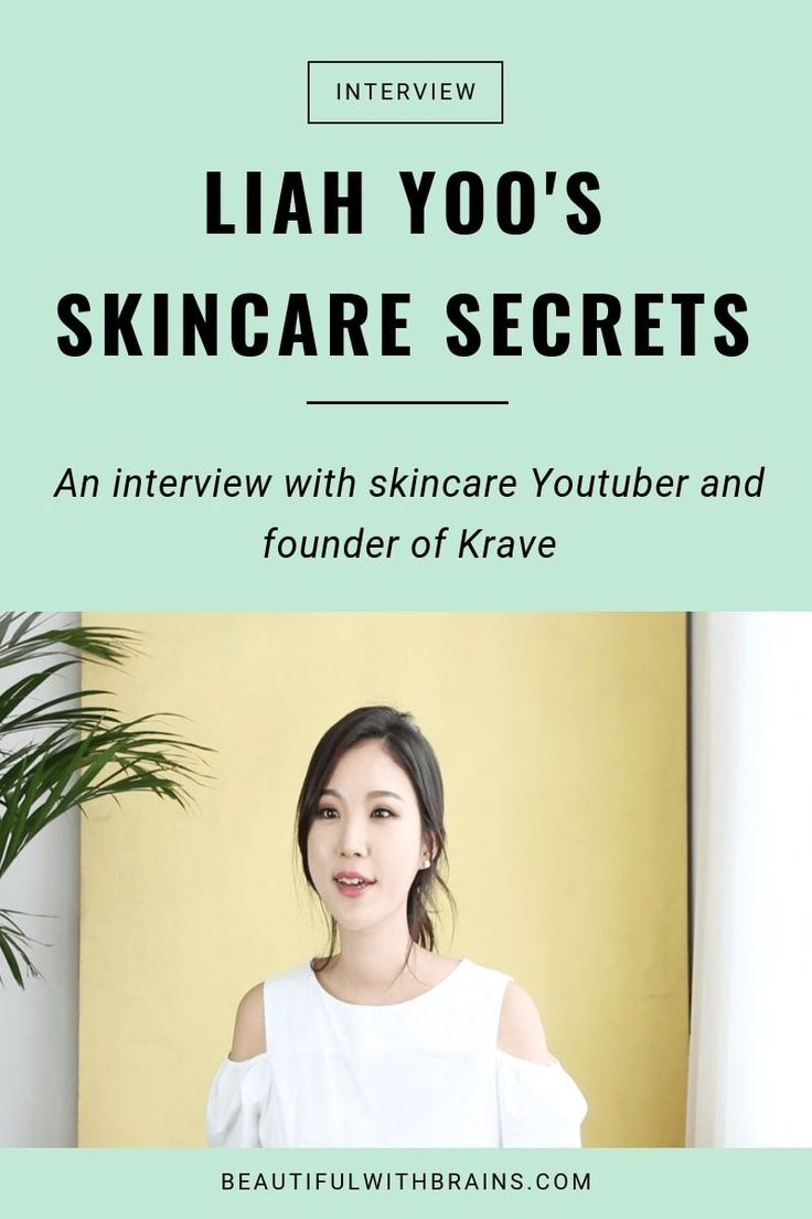 Secrets of Skin Care by Liah Yoo. Click on this pen for a skincare interview with a skin ...