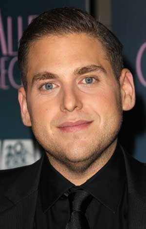 Jonah Hill. You can tell he's actually a great guy.  Makes it even better!