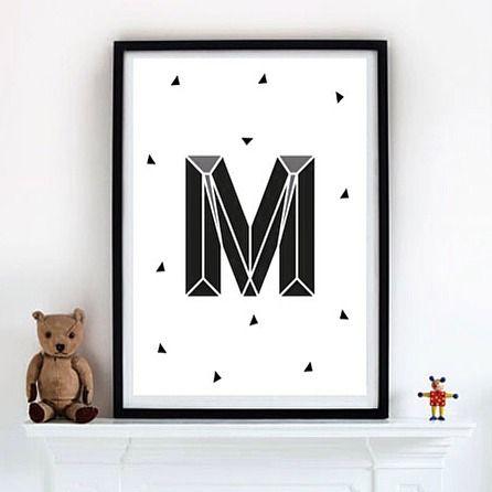 Немного монохрома) постер А5 - А1 впишется в интерьер как детской так и любой другой комнаты. Interior poster by mishu_design