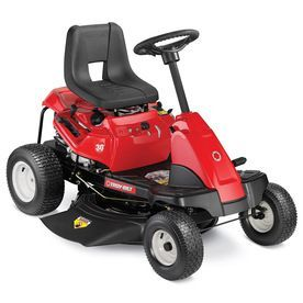 Troy-Bilt TB30R Shift-on-the-Go 30-in Riding Lawn Mower with Briggs & Stratton Engine and Mulching Capable