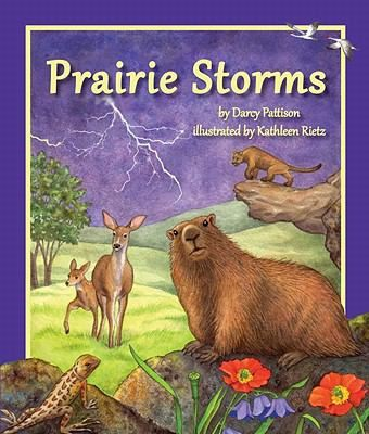 Month by month the prairie animals endure various types of storms.