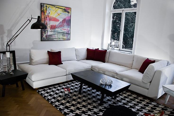 Corner sofa stockholm design bj rn welander welander for Wohnzimmer 4 x 10