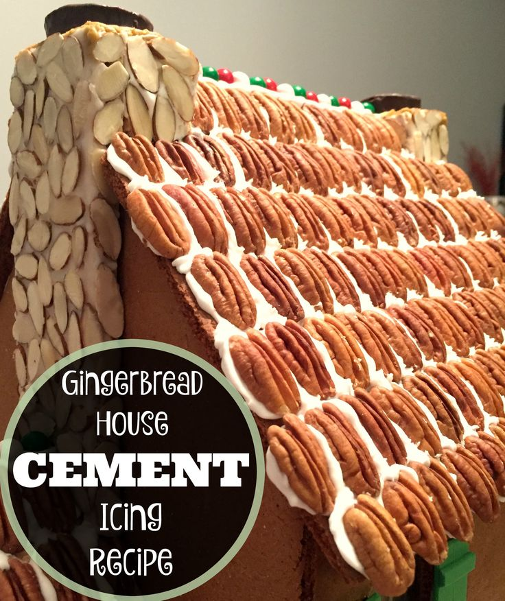 Gingerbread House Icing Recipe - Cement, Glue, Royal