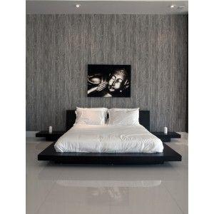 Best Modern Contemporary Japanese Zen Platform Beds Brown From 640 x 480