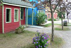 Le jardin du Village des arts au Centre de la Nature de Laval