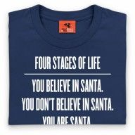 Four Stages of Life T Shirt