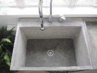 concrete mudroom/workroom sink Endless Concrete Design, Lehigh Valley/Philadelphia, Pa.