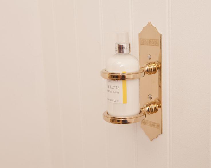 29 best bathroom accessories images on pinterest for Brown and gold bathroom accessories