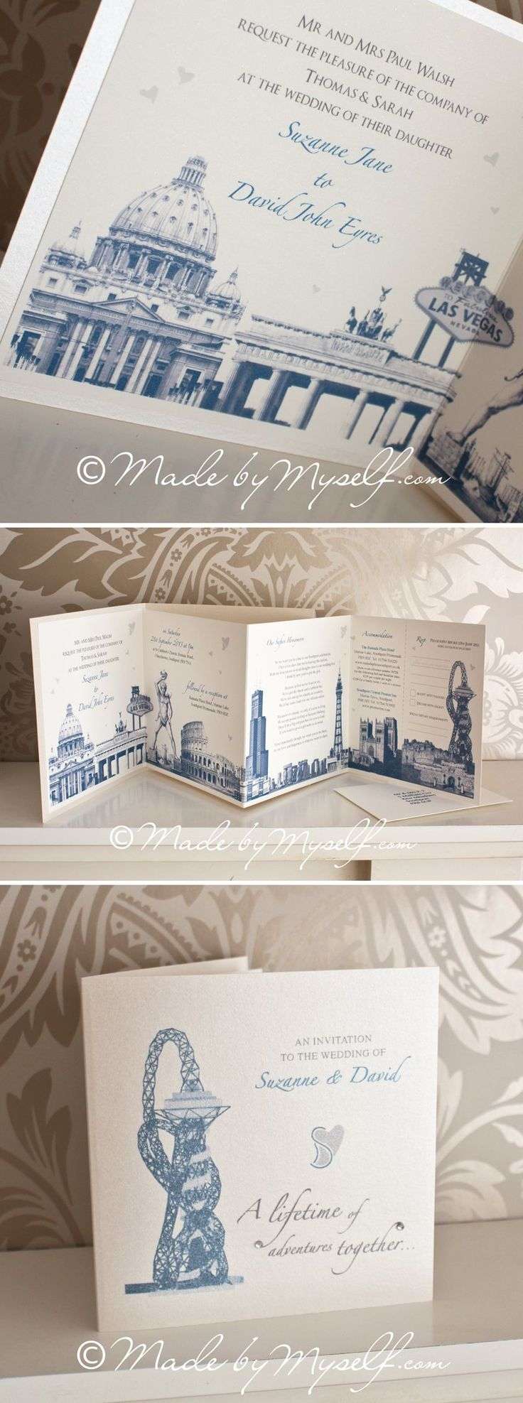 23 best Made By Myself Wedding Stationery images on Pinterest ...