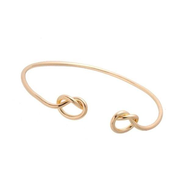 Bracelet noeuden métal doré plaqué or 9k. Un bracelet créateur tendance 2017 . Bracelet réglable convient à tous les poignets.Ce bracelet tendancea tout ce qu'il lui faut pour devenir l'accessoire incontournable de la saison! Profitez de bracelet à prix mini!  Emballage cadeau offert!