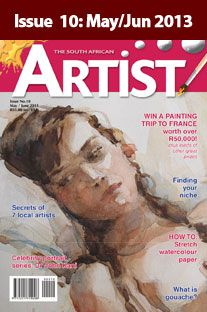 Donovan Stanford Artist - Interviewed for The SA Artist Magazine - 2013