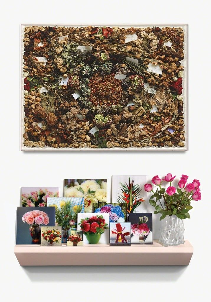 Sophie Calle, In Memory of Frank Gehry's Flowers, 2014, Gemini G.E.L.