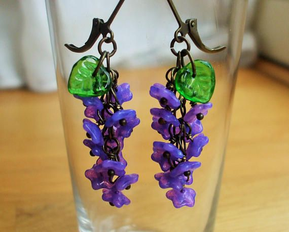 Hey, I found this really awesome Etsy listing at https://www.etsy.com/uk/listing/481569267/violet-blue-flower-earrings-30s-inspired