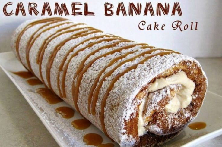 This Caramel Banana Cake Roll is beyond delicious and one of our Community favourites. This is an absolute must make cake.