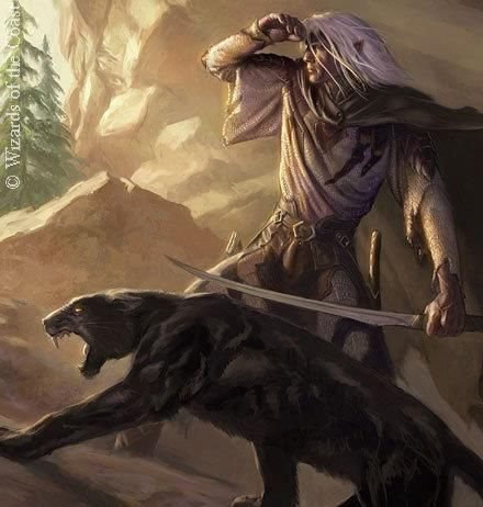 Drow Drizzt Do'Urden from the Legend of Drizzt. Badass, honorable, and…