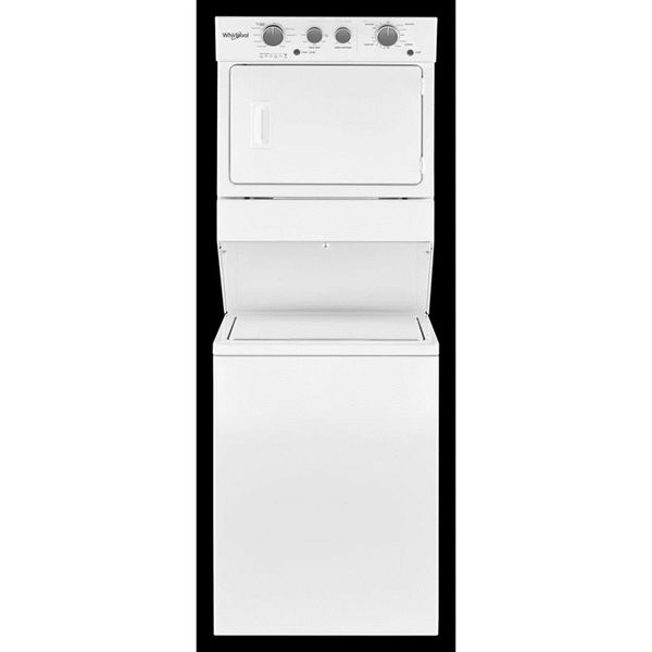 Whirlpool Electric Stacked Laundry Center With 4 0 Cu Ft Washer