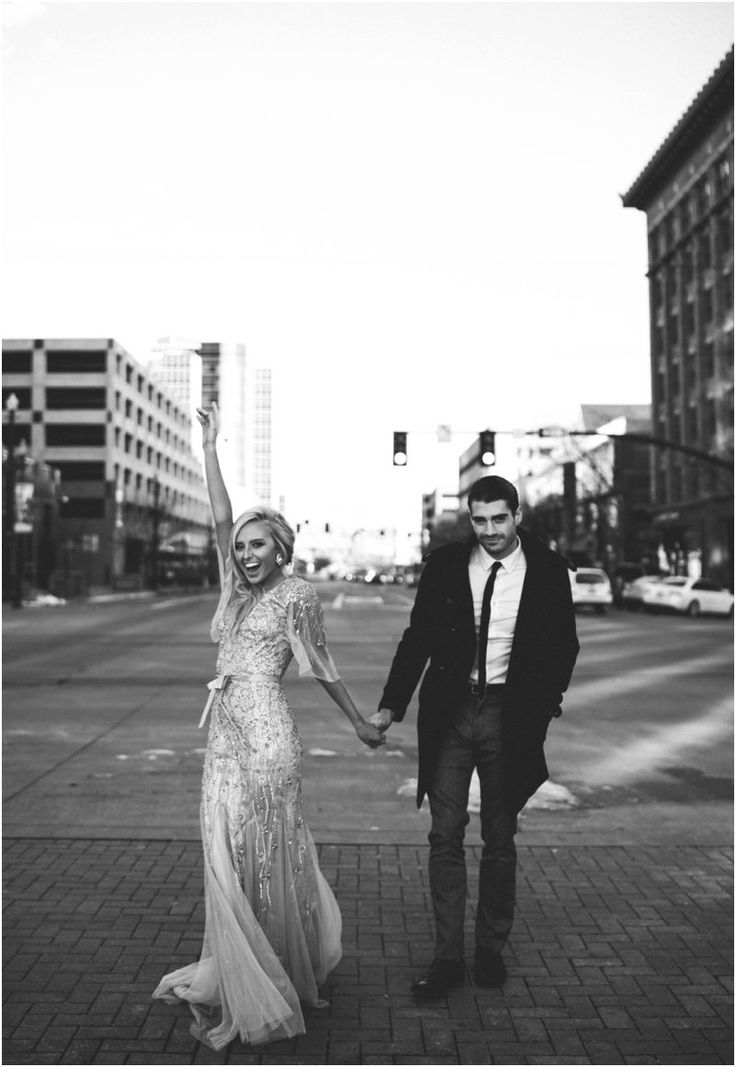 Jared and Makenna couple shoot in the city. couple fashion, couple style, old hollywood, cotton candy