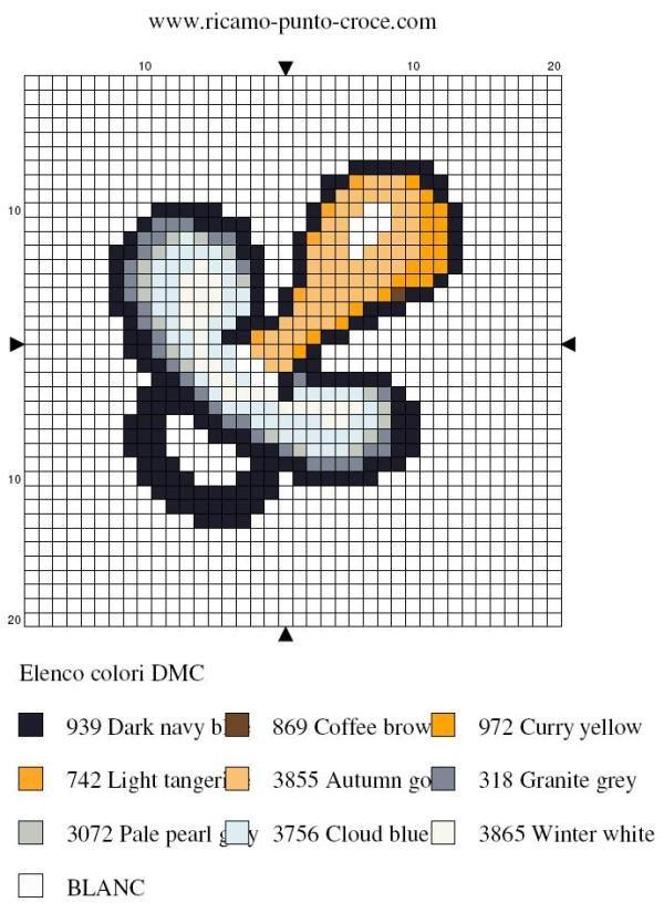 Pacifier perler bead pattern