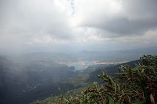 On top of Adam's Peak in the tropical mountains. From my bike ride travels through Sri Lanka.