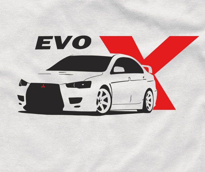 Evo X T Shirt Jdm For Mitsubishi Fans Evolution Shirt Ebay In 2021 Evo Mitsubishi Mitsubishi Lancer Evolution Cool evos logo wallpaper