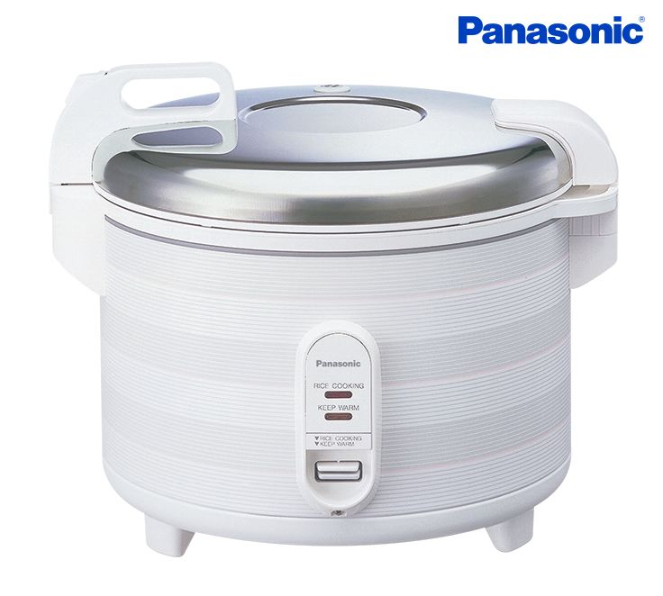 Making large batches of savory Spanish rice or South Asian biryani are a cinch with commercial rice cookers from Panasonic. Cook up to 20-cups for large family gatherings without tearing your hair out.