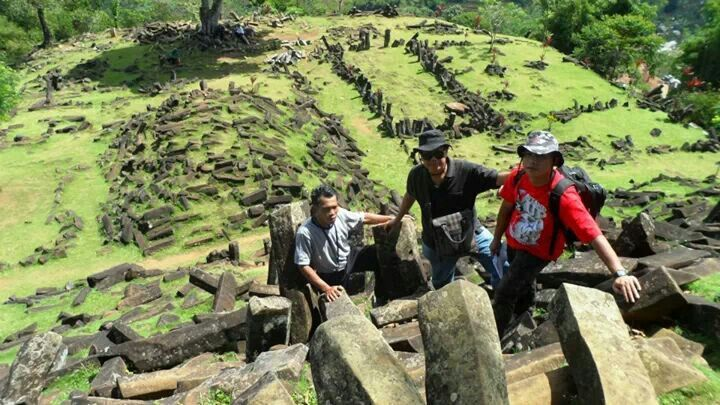 Gunung Padang-one of amazing place in Cianjur-West Java, Indonesia.