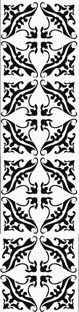 stencil row
