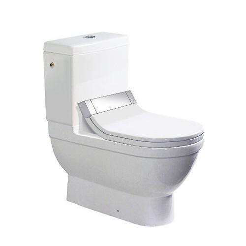 Duravit Starck 3 Cuvette de WC japonais à poser SensoWash Starck C par Philippe Starck (2141590000)