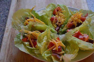 BLT Lettuce Wraps | Food | Pinterest