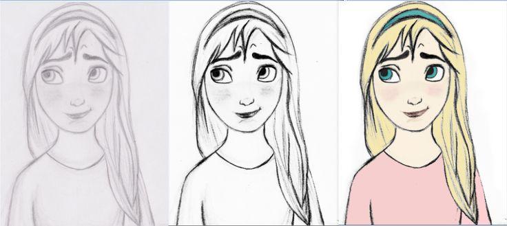 alicjamakota - step by step drawing