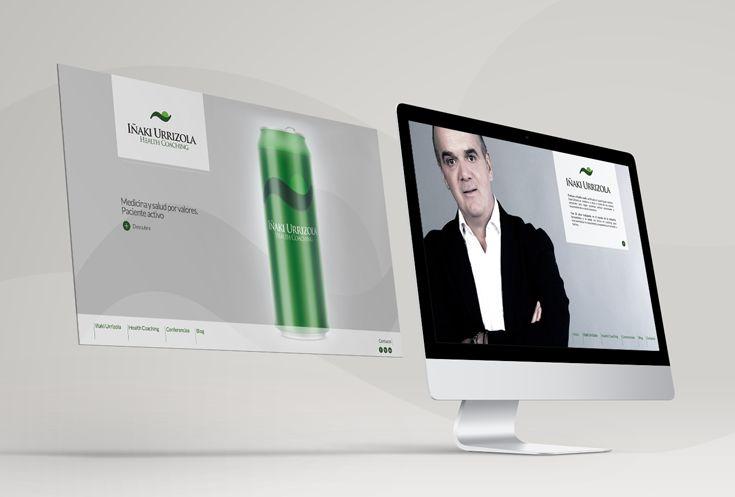 Web para el Health Coach, Iñaki Urrizola, profesional especializado en medicina y salud a través de los valores personales.
