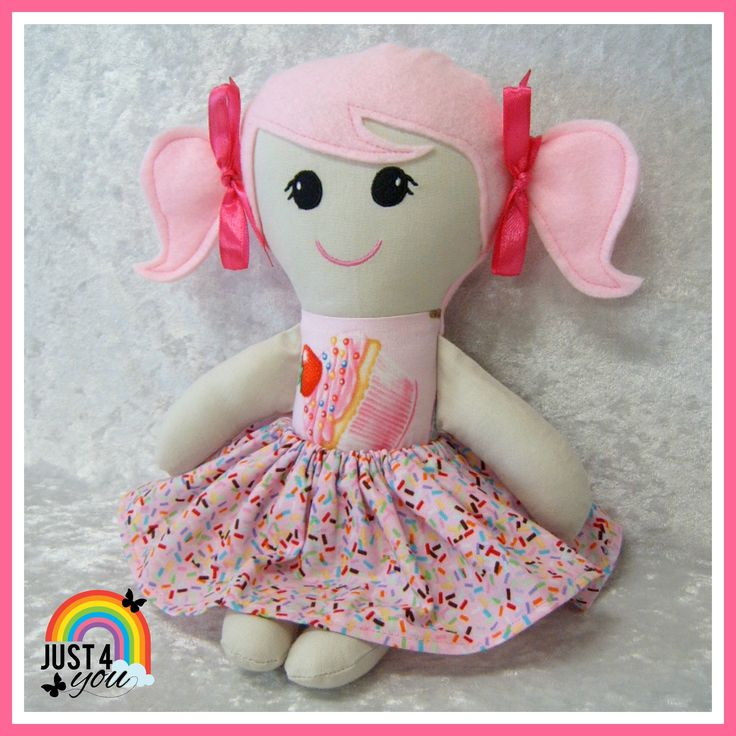 This delicious looking Little Sister Doll wearing her cupcakes & sprinkles outfit is still available to purchase - she is so adorable :) http://www.facebook.com/Just4YouNZ