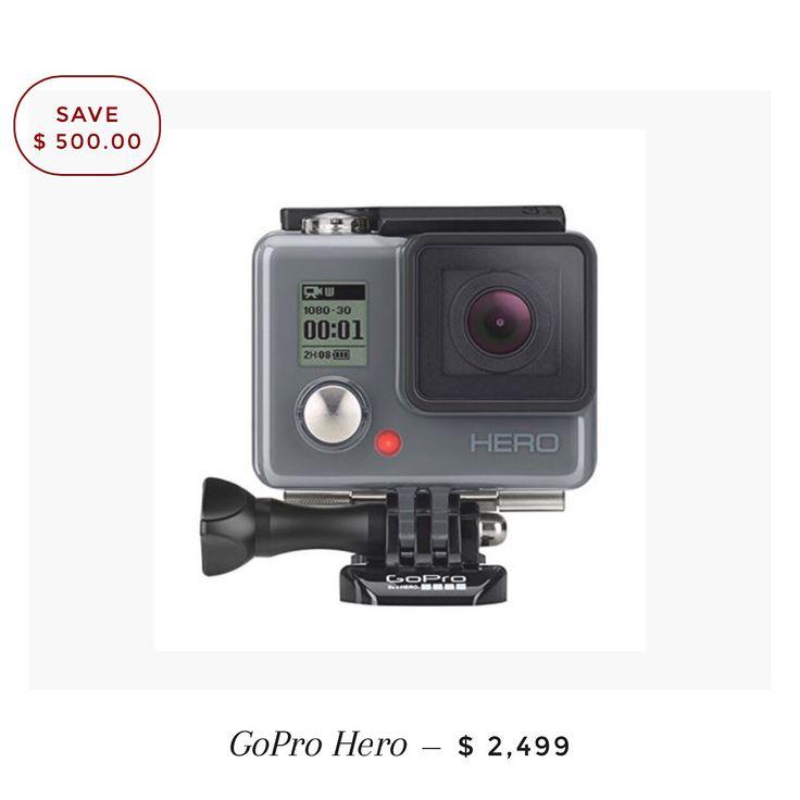 Ahorra 500 en la GoPro Hero, entra a www.smartidea.mx