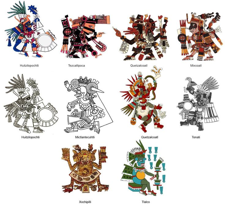 AZTEC PICTURES, PICS, IMAGES AND PHOTOS FOR YOUR TATTOO INSPIRATION