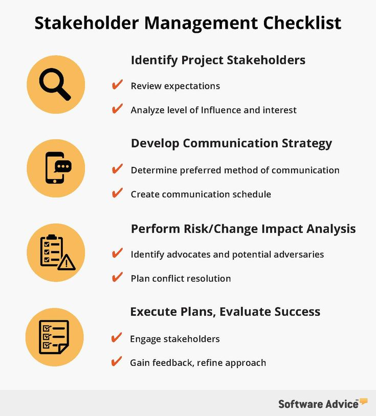 use this checklist to improve project stakeholder