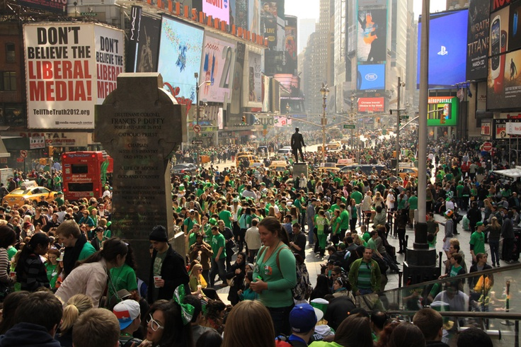 Times Square on St. Patty's Day! See the 'Don't Believe the Liberal Media!' billboard??: Favorite Billboards, Liberal Media, Times Square, Don T, Things, Wall, Medium