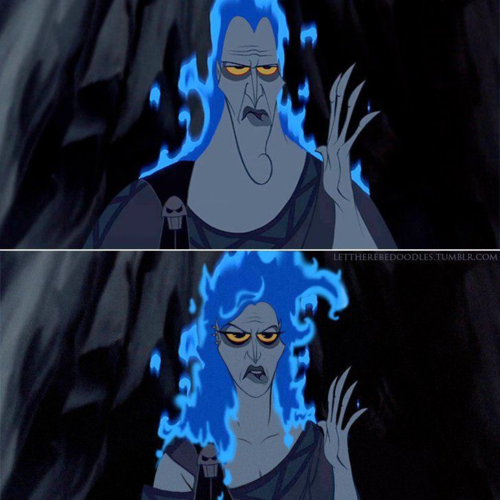 Pin for Later: What If Elsa Were a Man? See Disney Characters in a Whole New Light Hades