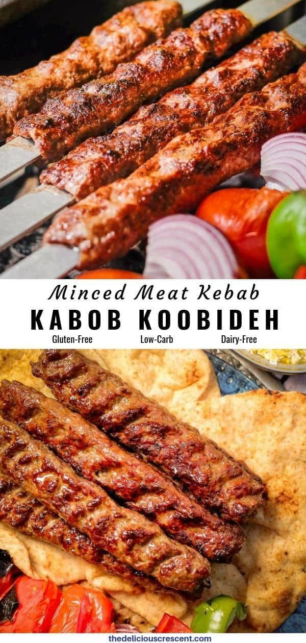 Koobideh Kabob Are The Most Juicy And Amazingly Flavorful Middle Eastern Ground Meat Kebabs Ever This Classic Persian Recip Recipes Kebab Persian Kabob Recipe