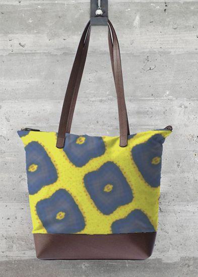 VIDA Tote Bag - Bubbleberry Blue by VIDA g0sBzc