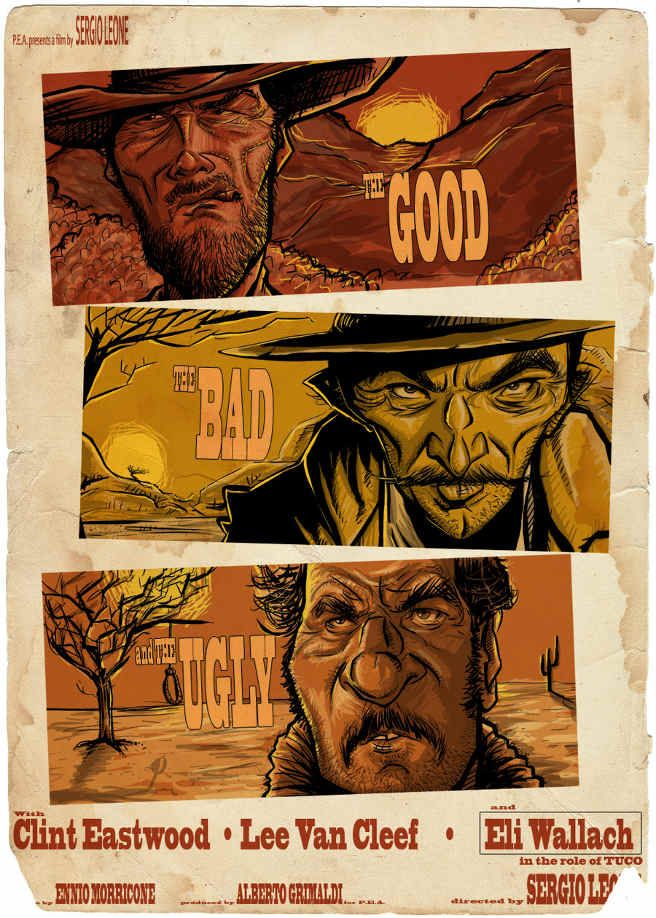 17 best images about the good the bad and the ugly on
