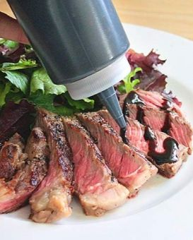 Learn to make you very own Red Wine Balsamic reduction!  Very DIY!