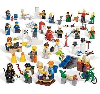 Lego mensen en hun beroep